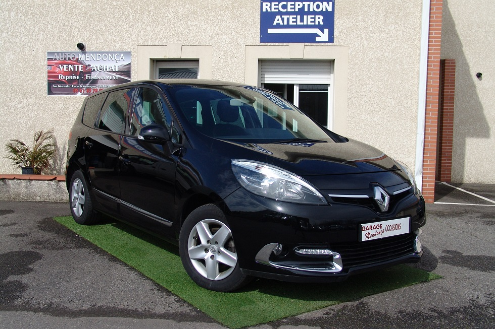 renault grand scenic 3 phase 3 1 5 dci 110 business 7 pl edc proche de toulouse garage auto. Black Bedroom Furniture Sets. Home Design Ideas