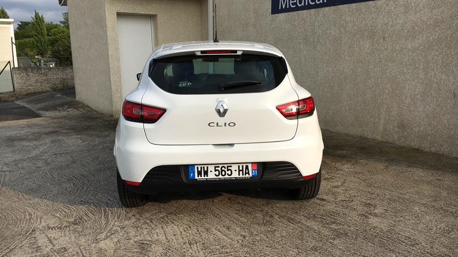 Renault clio iv 1 2 16v 75 zen remise 19 garage for Garage clio 4