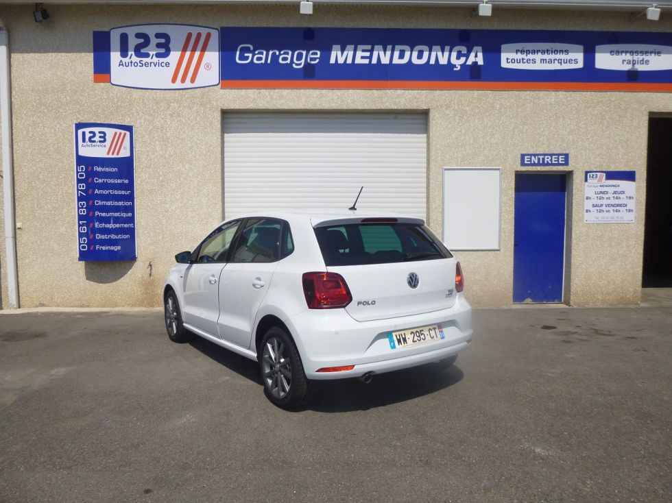 volkswagen polo pas ch re sur toulouse garage auto